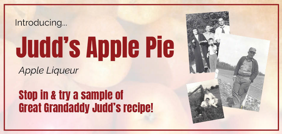 Judd's Apple Pie Liqueur