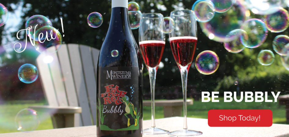 New! Fat Frog Red Bubbly!