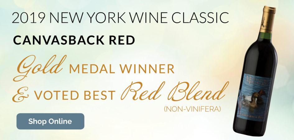Canvasback Red Award Winner