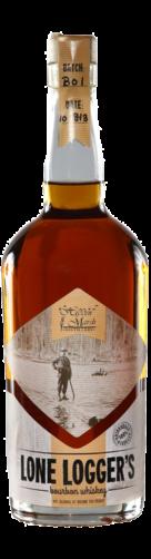 Lone Logger's Bourbon Whiskey 750mL