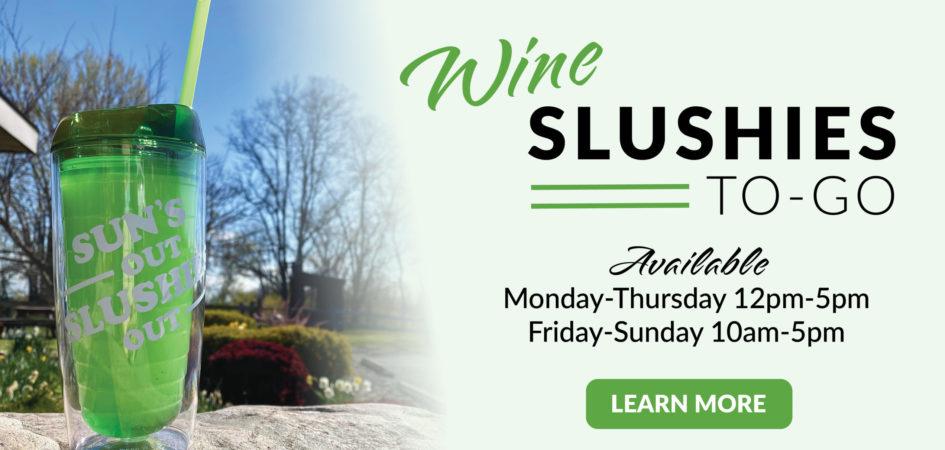 Wine Slushie To-Go