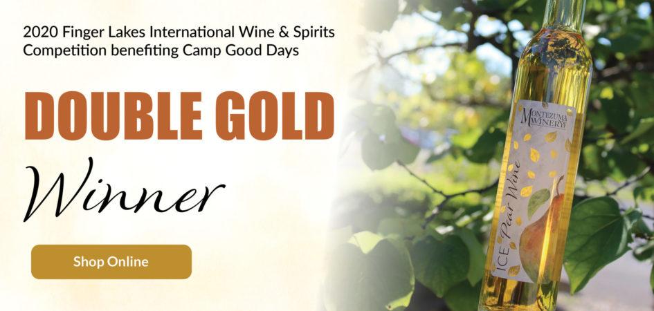 Double Gold Winner Ice Pear Wine