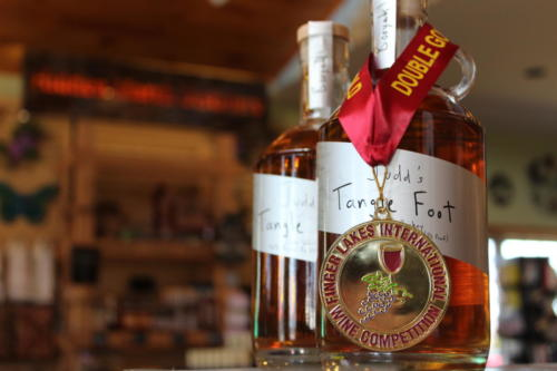 Judd's Tangle Foot Corn Whiskey Double Gold